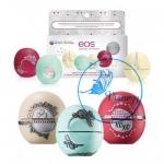 EOS Dazzling Twist Holiday Lip Balms Gift Set 2015 Limited Edition เซทพิเศษ 3 กลิ่นหอมที่พิเศษยิ่งกว่าให้คุณได้ DIY ตกแต่งปลอกลิปบาล์มด้วยตัวคุณเอง