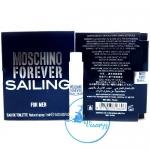 Moshino Forever Sailing for Men EDT Natural Spray 1mL
