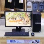 PC SET - Dell Optiplex 7040MT Quad-Core i5 6500 3.2GHz RAM 4GB SSD 128GB Win10 Pro + Display 22-inch FHD Warranty Onsite 10/8/2019