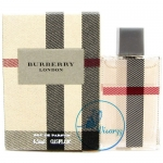 Burberry London EDP 4.5 mL น้ำหอมสำหรับคุณผู้หญิง กลิ่นที่สะท้อนความเป็นเมืองเก่าแก่ คลาสสิค ของกรุงลอนดอน