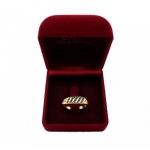 แหวนไพลิน ตัวเรือนอัลลอยด์ หุ้มทองคำแท้