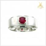 แหวนทับทิมแท้ สีแดงเลือดนก ใส่เพิ่มความมั่นใจ