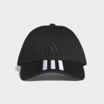 หมวก Adidas Six Panel Classic 3 Stripes Cap - Black