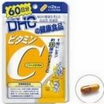 DHC Vitamin C 60 วัน วิตามินซี ช่วยลดความหมองคล้ำ ลดจุดด่างดำ รอย ฝ้ากระ ให้ค่อย ๆ จางลงอย่างเห็นได้ชัด ผิวพรรณกระจ่างสดใส มีน้ำมีนวลขึ้น