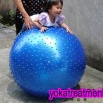 บอลโยคะ แบบหนาม ขนาด 115CM YK1025P