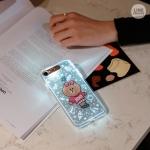 Preorder เคสกระพริบ IPHONE 7/ 7 Plus Lightening Soft Case ลาย XOXO Choco Soft Lighting Case