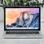 MacBook Pro 13-inch Rtina Intel Core i5 2.6GHz. Ram 8GB SSD 256GB Mid 2014.