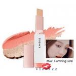 (ลดพิเศษ 45%) Laneige Two Tone Shadow Bar # 1 Humming Coral นวัตกรรมใหม่ล่าสุดจากเกาหลี อายแชโดว์ 2 สี ในแท่งเดียว สะดวก รวดเร็ว แต่ให้ผลลัพธ์การแต่งแต้มดุจมืออาชีพ