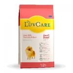 Dr.luv Care Small Breeds Liver,Milk,Veggie & Egg สุนัขโต พันธุ์เล็ก รส ตับ นม ผักและไข่ 500 G x 4 ถุง