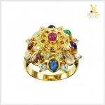 แหวนนพเก้า ตามตำราโบราณ ทองแท้ (สอบถามราคา)