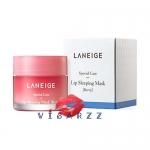 ลด 40% (# Berry) Laneige Lip Sleeping Mask 20g มาส์กบำรุงริมฝีปากสูตรเข้มข้น ช่วยฟื้นคืนผิวให้อวบอิ่ม เด้ง นุ่มเนียนยิ่งขึ้น