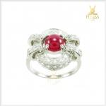 แหวนทับทิมแท้ แหวนพลอยทับทิม แหวนทับทิมทรงโบราณๆ