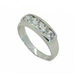 แหวนอัลลอยด์ หุ้มทองคำขาวแท้