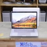 MacBook Pro Retina 15-inch Mid2017 Silver Quad-Core i7 2.8GHz RAM 16GB SSD 256GB Radeon Pro 555 4GB FullBox Apple Warranty 06-07-19