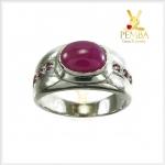 แหวนทับทิมแท้ สัญลักษณ์ของความรักเดียวใจเดียว