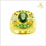แหวนเขียวส่อง แหวนพลอยเขียวส่อง (สามารถสั่งทำได้ค่ะ)