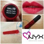 NYX Soft Matte Lip Cream สี # SMLC10 Monte Carlo