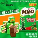 Milo Cube 1 ห่อ 100 เม็ด