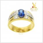 แหวนไพลินแท้ ทองแท้ เท่อย่างมีสไตล์ (สอบถามราคา)