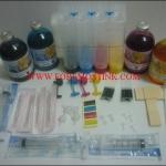 ชุด INK TANK เปล่าพร้อมน้ำหมึกเติม 4 สี พร้อมอุปกรณ์สำหรับ CANON