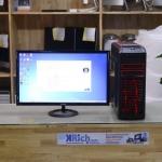 "Computer Set Core i5-7500 3.4GHz RAM 8GB DDR4 2133MHz HDD 1TB ASUS GAMING Display VX278H 27"" 16:9 FullHD"