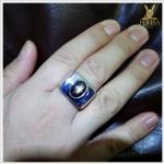 แหวน Black Star Sapphire ขาสวยดูดีมีสไตล์