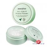 (ขายส่ง 160-) Innisfree No Sebum Mineral Powder 5g แป้งฝุ่นควบคุมความมัน เนื้อบางเบา ให้ผิวดูเนียนนุ่ม น่าสัมผัส และยังใช้ได้ทั้งร่างกาย ประโยชน์เยอะมากค่ะ