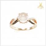 แหวนโรสควอตซ์แท้ สวยเก๋ น่ารักๆ สีชมพูหวานๆ