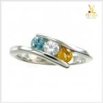 แหวนพลอยแท้ 3 สี สวยเก๋ ในสไตล์ที่เป็นคุณ