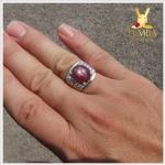 แหวนทับทิม Star ตัวแทนของความรักบริสุทธิ์