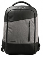NB03 กระเป๋าทำงาน กระเป๋าโน๊ตบุ๊ค สีเทา ขนาด 22 ลิตร