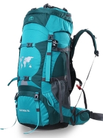 ⭐ DF01 กระเป๋าเดินทาง Topsky สีฟ้า ขนาดจุสัมภาระ 70+10 ลิตร (เสริมโครง+ปรับระดับ S M L)
