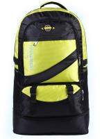 NL18 กระเป๋าเดินทาง สีเหลือง ขนาดจุสัมภาระ 60 ลิตร