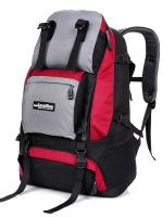 NL16 กระเป๋าเดินทาง สีแดง ขนาดจุสัมภาระ 40 ลิตร