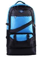 NL18 กระเป๋าเดินทาง สีน้ำเงิน ขนาดจุสัมภาระ 60 ลิตร