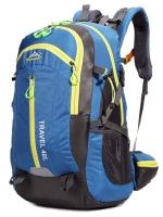NL09 กระเป๋าเดินทาง สีน้ำเงิน ขนาดจุสัมภาระ 40 ลิตร