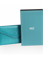 RFID Passport Holder Wallet (Turquoise) กระเป๋าพาสปอร์ตพร้อมกล่องพรีเมี่ยม สีเขียวทะเล