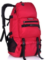 NL21 กระเป๋าเดินทาง สีแดง ขนาดจุสัมภาระ 40 ลิตร สำเนา