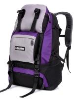 NL16 กระเป๋าเดินทาง สีม่วง ขนาดจุสัมภาระ 40 ลิตร