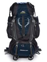 NL10 กระเป๋าเดินทาง สีกรมท่า ขนาด 80+5 ลิตร (เสริมโครง)