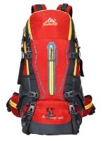 NL12 กระเป๋าเดินทาง สีแดง ขนาด 45 ลิตร (เสริมโครง)