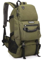 NL21 กระเป๋าเดินทาง สีเขียวทหาร ขนาดจุสัมภาระ 40 ลิตร สำเนา