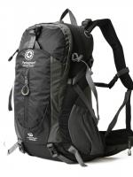 NL22 กระเป๋าเดินทาง Pentagram สีดำ ขนาดจุสัมภาระ 50 ลิตร (เสริมโครง)
