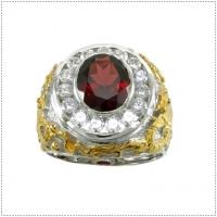 แหวนพลอยโกเมน (Garnet)