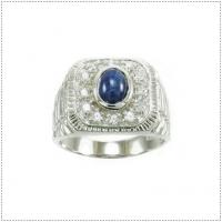 แหวนพลอยไพลิน (Blue Sapphire)