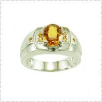 แหวนพลอยบุษราคัม (Yellow Sapphire)
