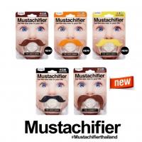 Mustachifier Pacifier จุกหลอกทรงหนวดสำหรับเบบี้ฮิปสเตอร์