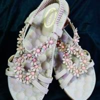 รองเท้าไซส์ใหญ่แฟชั่นลำลอง QQB13431 pink