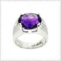 แหวนพลอยอเมทิสต์ (Amethyst)