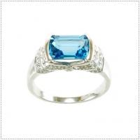 แหวนพลอยโทแพซ (อัญมณีประจำเดือน พฤศจิกายน)